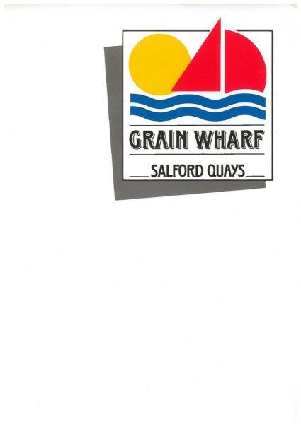 thumbnail of Grain Wharf Salford Quays 1986