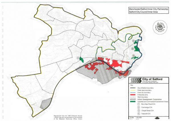 thumbnail of Manchester Salford Partnership Map