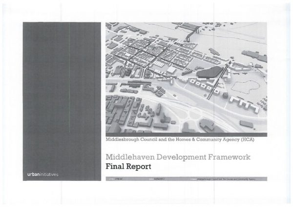 thumbnail of Middlehaven Development Framework
