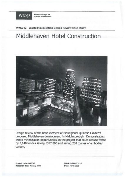 thumbnail of Middlehaven Hotel Construction Design Review