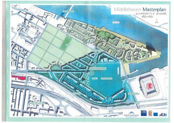 thumbnail of Middlehaven Masterplan drawing