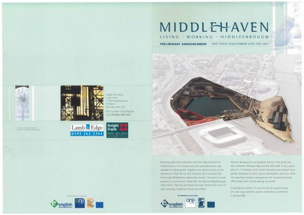 thumbnail of Middlehaven preliminary announcement