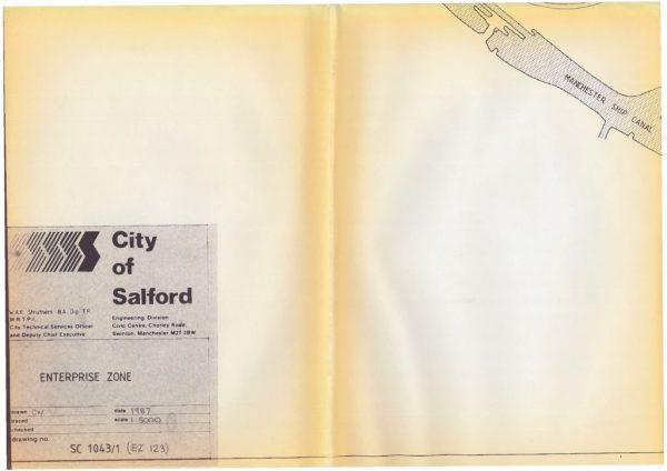 thumbnail of Salford Enterprise Zone map
