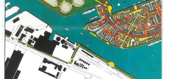 thumbnail of Salford Quays development plan map 1985