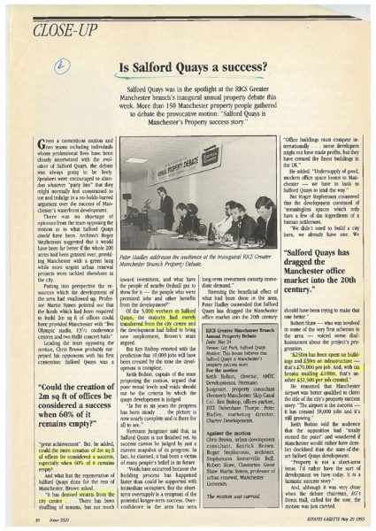 thumbnail of Salford Quays press articles 1993 to 1997