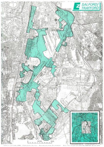 thumbnail of Salford Trafford location map