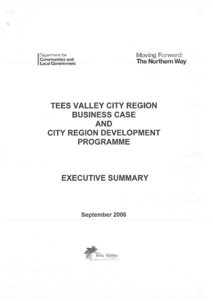 thumbnail of TV City Region business case