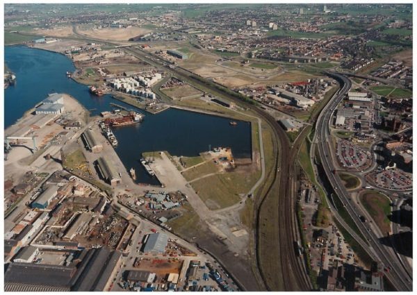 thumbnail of Aerial photo Middlehaven 1