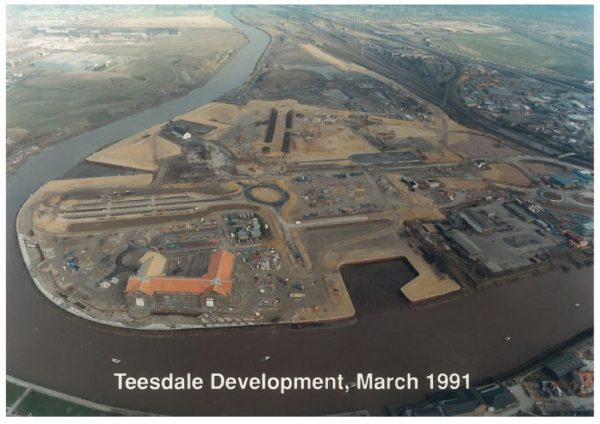 thumbnail of Aerial photo Teesdale 1991