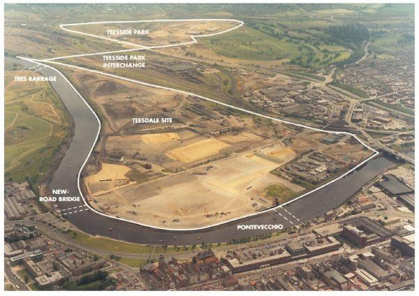 thumbnail of Aerial photo Teesdale Site Stockton