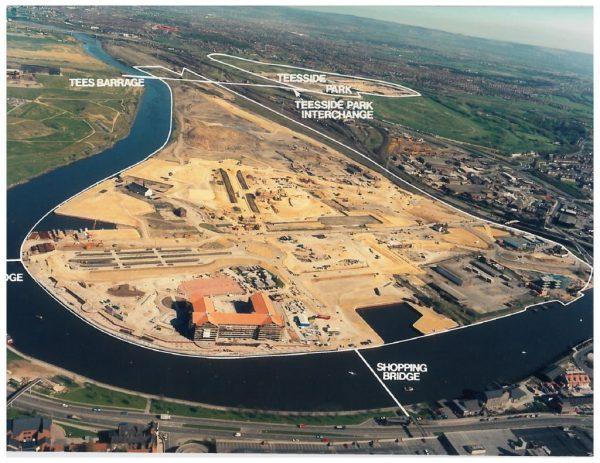 thumbnail of Aerial photo Teesdale and Barrage
