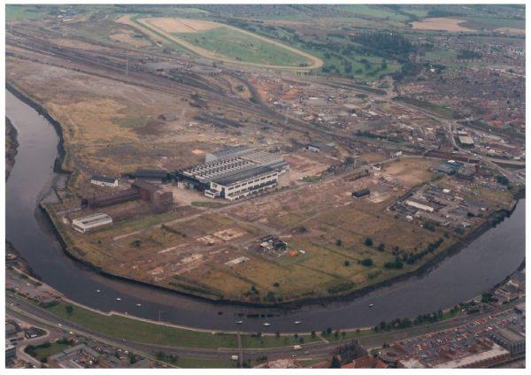 thumbnail of Aerial photo Teesdale site Stockton 1