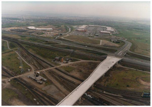 thumbnail of Aerial photo Teesside 7 span viaduct