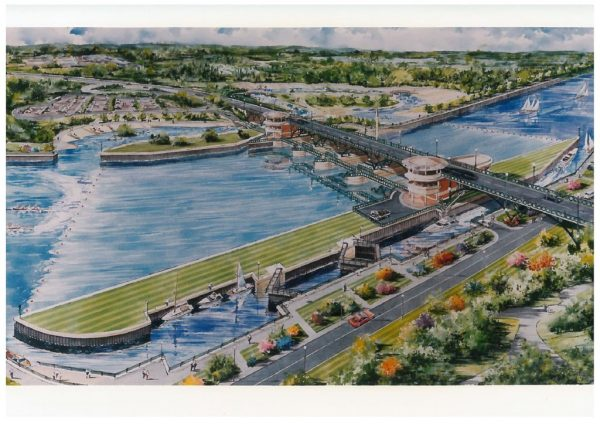 thumbnail of Artists Impression Tees Barrage