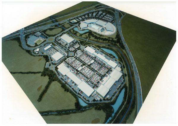 thumbnail of Model of Teesside Park Stockton